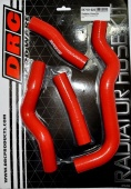 Шланги радиатора DRC Radiator Hose Kit KLX250, D-Tracker 08-16 Red для мотоцикла, доставка по России