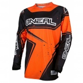 Джерси Oneal Element Racewear black/orange, доставка по России